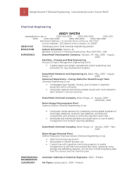 Chemistry Resume Ideas Collection Essay On Marriage And Religion Resume For Day Care 24