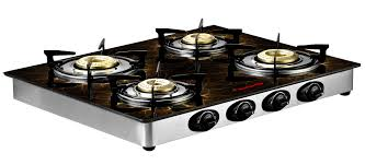 Gas Cooktop Glass Butterfly Reflection 4 Burner Special Edition Lpg Stove Cooktop