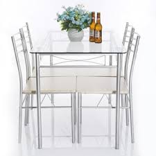 glass dining table set. Glass Dining Room Tables Simple Kitchen Table Sets Set