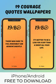19 Courage Quotes Wallpapers iPhone ...