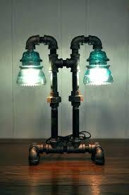 glass insulator lights insulator light insulator lamp twin column glass insulator dual light desk lamp retro glass insulator lights introduction