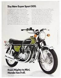 vintage honda cb motorcycles. honda cb500 four vintage cb motorcycles