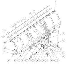 snowdogg hd75 plow 16020520 hd75 moldboard