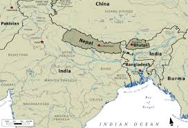 bhutanese refugee students why are bhutanese refugees coming from Nepal India Map map showing india, nepal, and bhutan nepal india border map