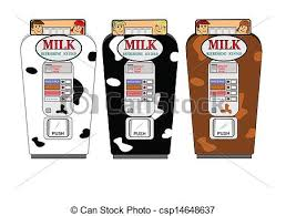 Vending Machine Graphics Classy Retro Milk Vending Machine Milk Vending Machine From Fifties