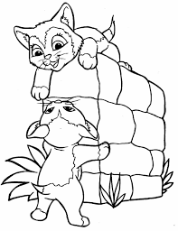 Small Picture Printable Coloring Pages Cats And Dogs Page Dog Cat Dog Coloring
