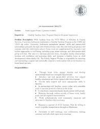 Sample Cover Letter For Community Support Specialist Adriangatton Com