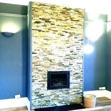 fireplace stacked stone natural stacked stone fireplace contemporary