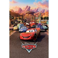disney cars lightning mcqueen wallpaper.  Lightning Disney Cars Lightning Mcqueen Feature Wall Wallpaper Mural  158cm X 232cm Inside R