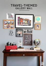 extravagant travel wall art themed gallery live laugh rowe display and tutorial idea sticker set