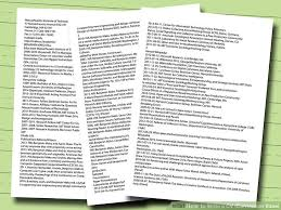How to Write a CV or Curriculum Vitae (with Free Sample CV)