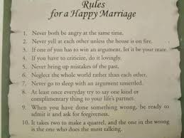 Rules For A Happy Marriage Husband Wife Inspirational Quotes Simple Inspirational Quotes About Marriage