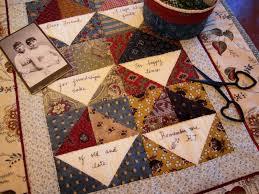 A Sentimental Quilter: Friendship Quilts &  Adamdwight.com
