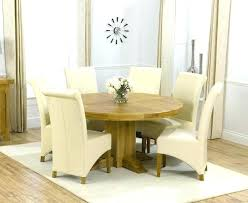 round dining table se white
