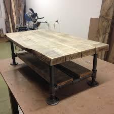stunning barn wood coffee table reclaimed wood amp pipe coffee table with gray barn wood rustic