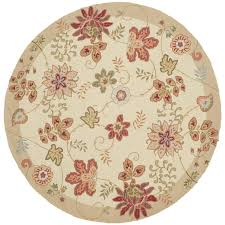 round rooster kitchen rugs