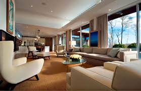 Modern House Living Room Design Contemporary Fieldview Residence By Blaze Makoid Architecture