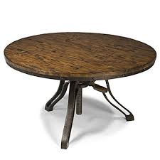 round industrial coffee table. Round Industrial Coffee Table
