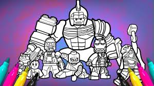 Avengers Infinitywar Coloring Page Lego Superheroes 2 Coloring
