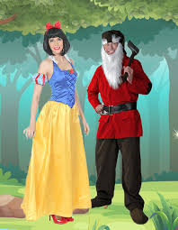 snow white and dwarf costumes