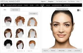 p virtual makeover p p put on foundation make