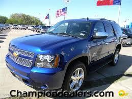 2012 Blue Topaz Metallic Chevrolet Tahoe LS #57873104 Photo #2 ...