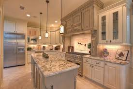 traditional kitchens designs. White Cabinets Light Granite Kitchen Spring Countertops With Traditional Kitchens Designs Mini Pendant Lamps Choose Styles P