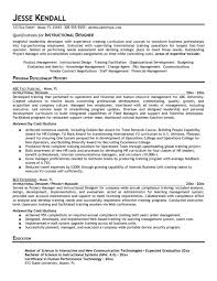 Interior Design Resume Template Formt Cover Letter Examples within Instructional  Design Resume