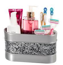 Amazon.com: Brushed Nickel Bathroom Organizer, Cosmetic Organizer ...