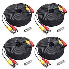 amazon com annke 4 150 feet video power cable for security annke 4 150 feet video power cable for security camera system all