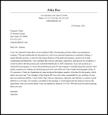 Sample Manager Cover Letter Professional Site Manager Cover Letter Sample Writing