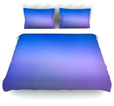 full image for malia shields aura series 5 blue purple duvet cover cotton twin blue and