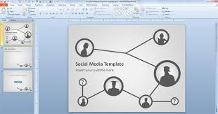 power points template free social media template for powerpoint presentations