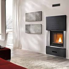 Calore Piazzetta Pellet Fireplaces Pellet Fireplace