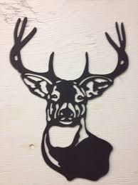 wooden moose head wall decoration 2018 metal deer buck silhouette 15 x 11 silhoettes