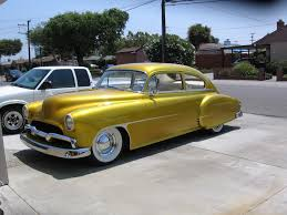 Photo: Gold chevy with scallops 8-06 | 1950 Chevy Frank ...