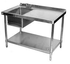 Stainless Steel Table Sinks