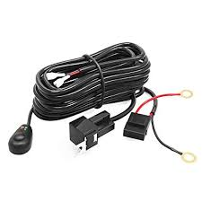amazon com led light bar yitamotor offroad driving light bar wiring Rigid Industries Wiring Harness at Amazon Led Wiring Harness