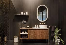 designer bathroom. [ISH Fair Bathroom Trends] · Designer Details