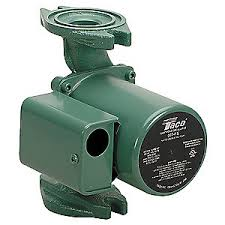taco hp cast iron in line wet rotor hot water circulator 1 25 hp cast iron in line