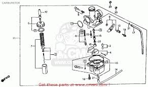 holder,jet needl trx200sx fourtrax 200sx 1986 (g) usa 16165958681 chinese atv carburetor replacement at 110cc Atv Carburetor Diagram