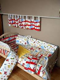 crib set bedding sets cat construction for baby dr seuss abc oh the places go 3