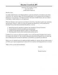 Ideas Of Example Nursing Cover Letter Cover Letter Example In School