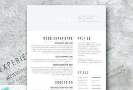 Elegant Resume Template Free Free Minimalist Template Shades Of Gray ...