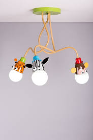 kids ceiling lighting. Giraffe Monkey Zebra Kids Ceiling Light Pendant Boys Girls Bedroom Lights (FREE LED Bulbs): Amazon.co.uk: Lighting 3