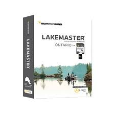 Lakemaster Charts Humminbird Lakemaster Ontario Edition Digital Gps Lake Maps Micro Sd Card Version 1