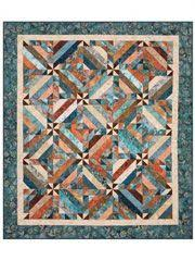 75 best Strip tube quilts images on Pinterest | Quilt blocks ... & Make the Intertwined quilt pattern in no time at all with just a handful of  2 Adamdwight.com