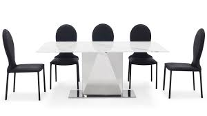 bianco dining set 6 chairs
