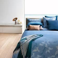 hugo boss waterwalk duvet cover blue