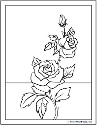 Kids who print and color sheets and pictures, generally acquire and use knowledge more. 73 Rose Coloring Pages Customize Pdf Printables